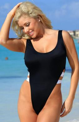 Beatific White One Piece Swimsuit