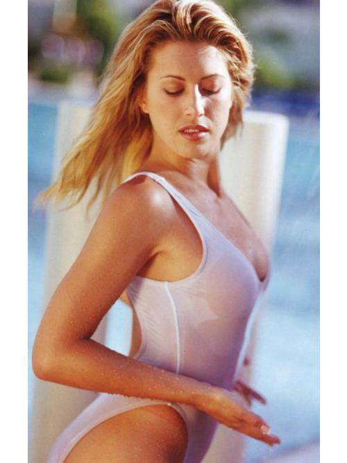 Heavenly Sheer One Piece Swimsuit