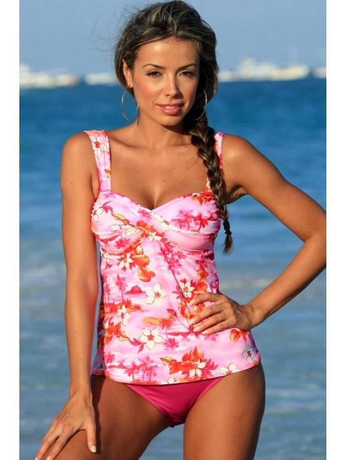 Cutting-Edge Beach Tankini