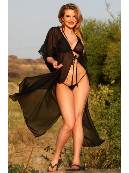 Entertaining Sheer Robe